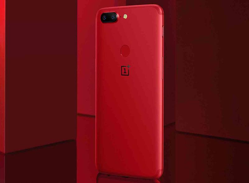 OnePlus 5T Vermelho Lava