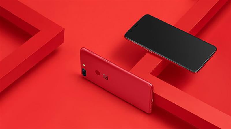 OnePlus 5T Vemelho Lava