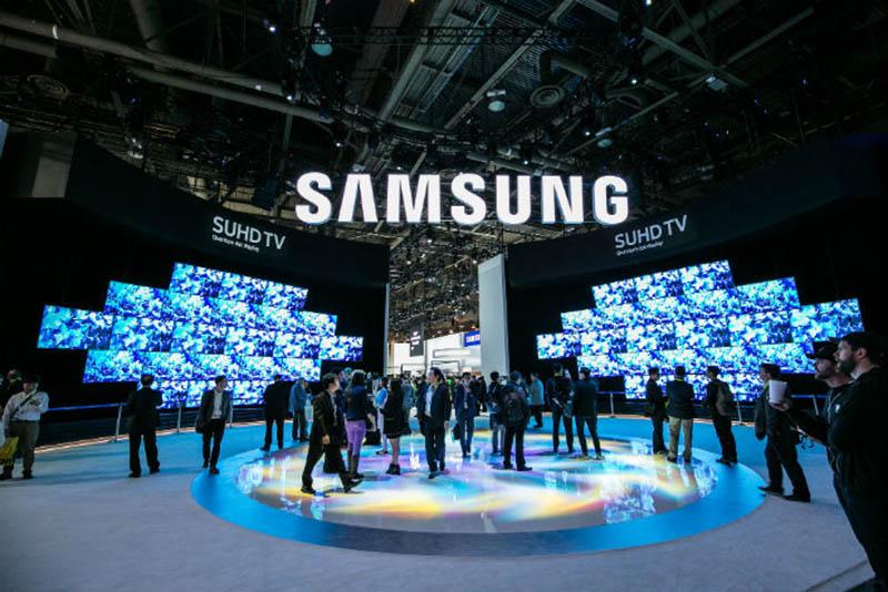 Samsung Galaxy CES 2018 mudar mundo inovações