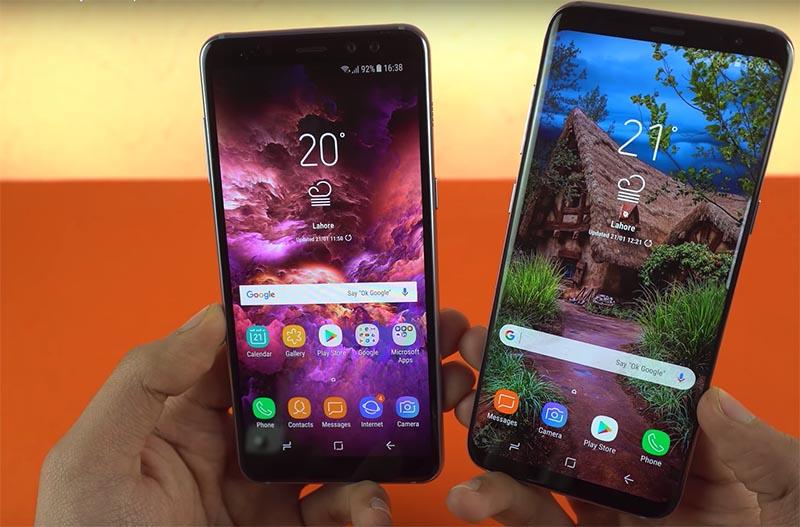 Samsung Galaxy S8 Samsung Galaxy A8 Android Oreo Samsung Galaxy A8 2018