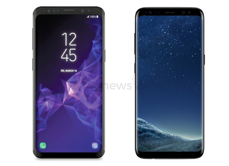 Samsung Galaxy S8 vs Samsung Galaxy S9