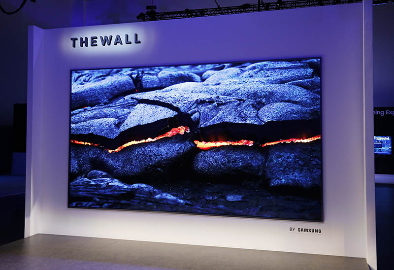 Samsung The Wall TV Micro 1 LED 146 polegadas televisão modular