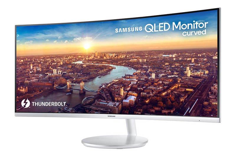 Monitor Samsung CJ791 Samsung monitor Thunderbolt 1 CES 2018