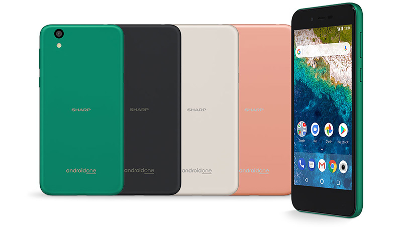 Android One Google Android Oreo Sharp S3 smartphone