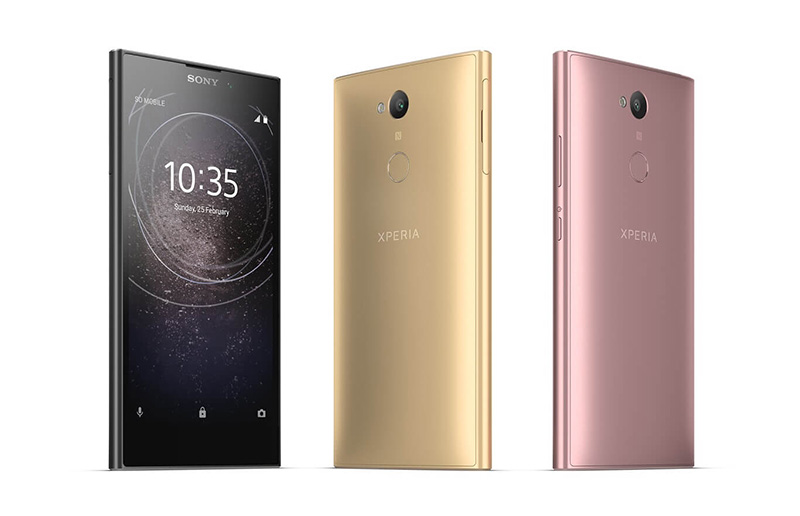 Sony Xperia L2 CES 2018 Android Oreo