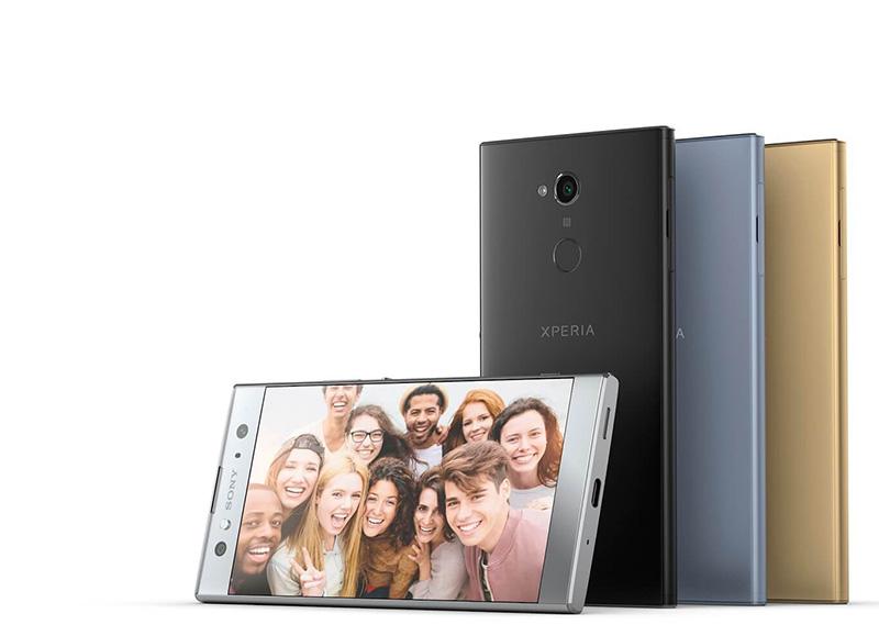 Sony Xperia XA2 Ultra smartphone Android Oreo CES 2018