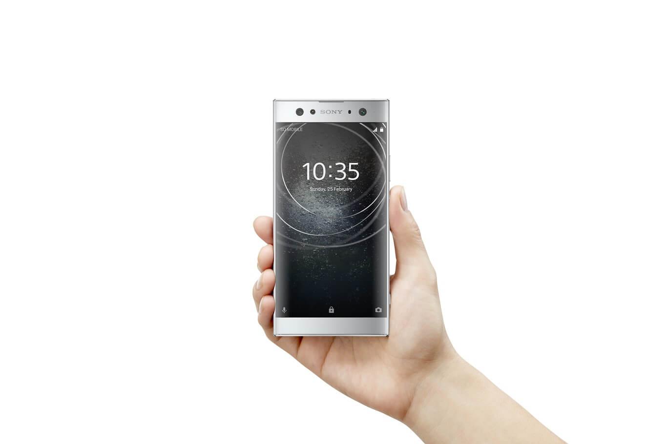 smartphones Android Sony Xperia XA2 Ultra smartphone Android Oreo