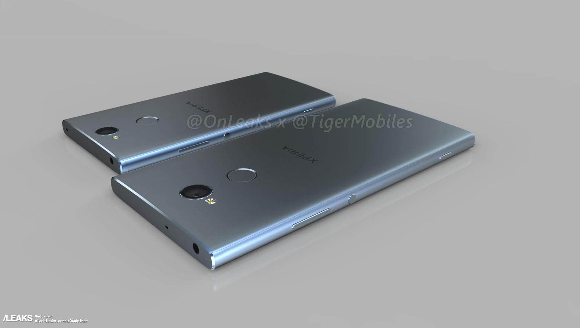 Alegado Sony Xperia XA2 e XA2 Ultra