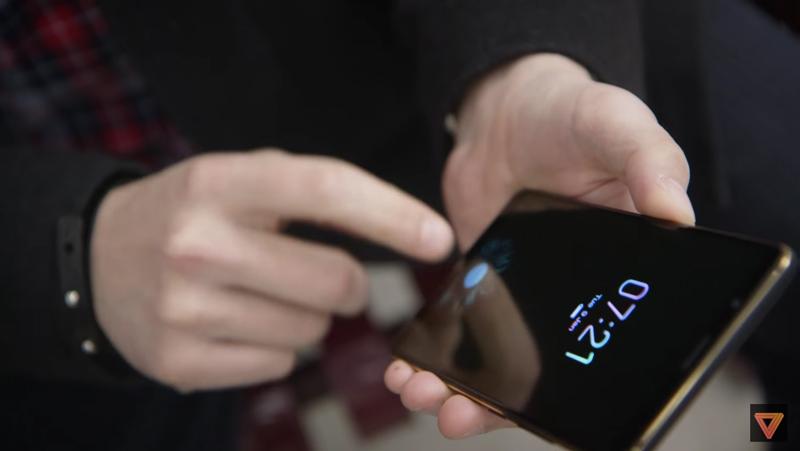 Patente da Samsung mostra como será o sensor embutido no ecrã