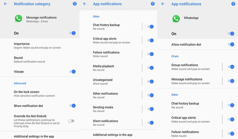 WhatsApp Android Oreo novidades