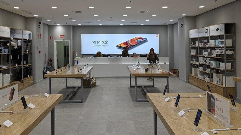 Android Xiaomi Mi Store loja oficial lojas