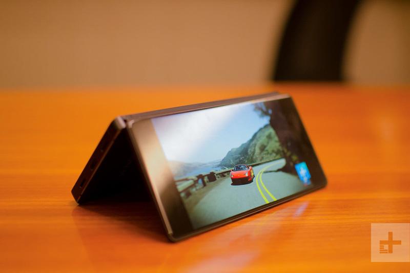 Samsung - Nova patente mostra um Samsung Galaxy com ecrã dobrável