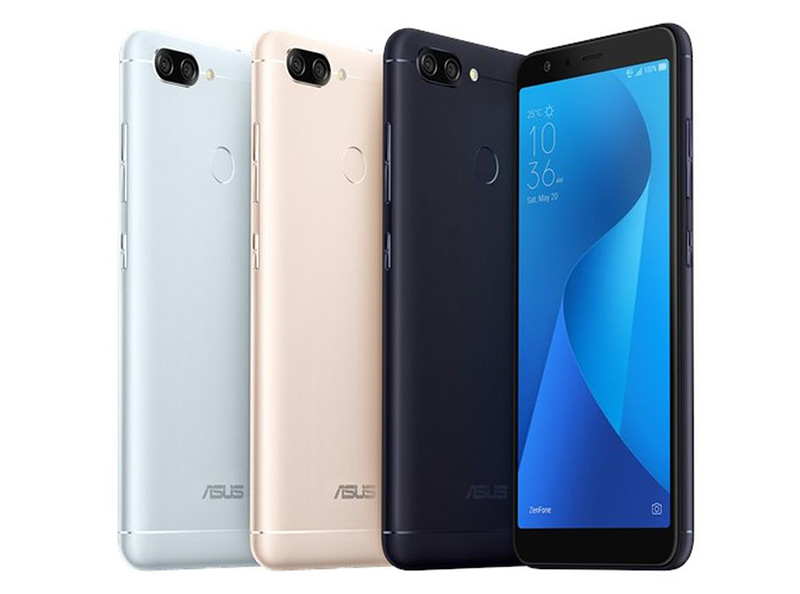 ASUS ZenFone Max Plus Face Unlock smartphone Android Oreo