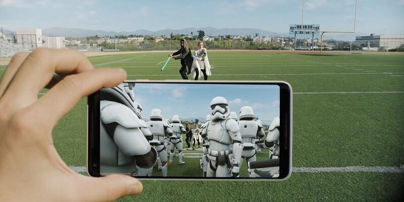Realidade Aumentada Google Android iOS