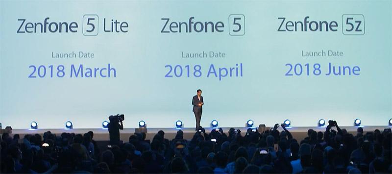 ASUS ZenFone 5Z ASUS ZenFone 5 Lite MWC