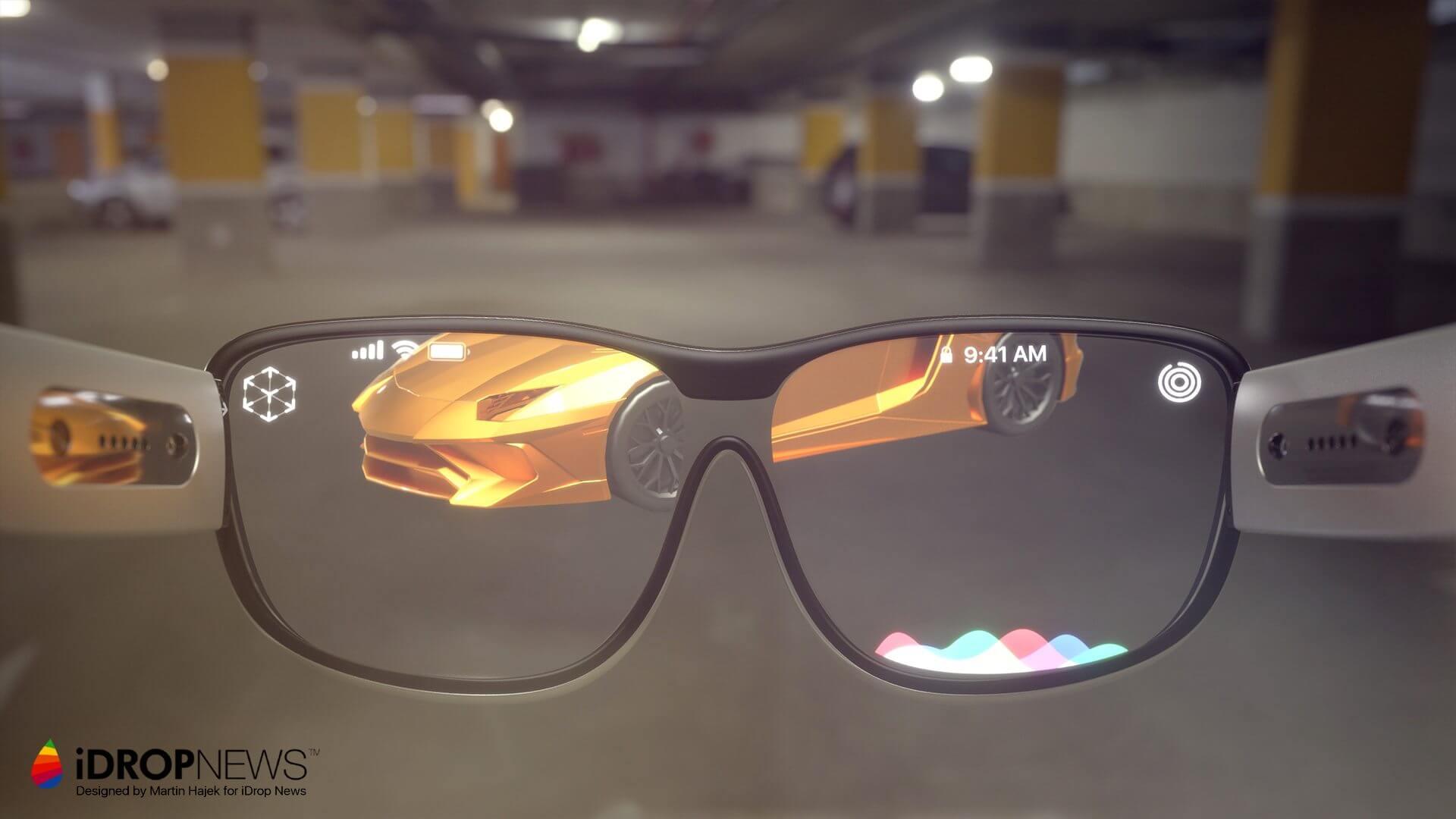 Apple. Conceito imagina os óculos de Realidade Aumentada da Apple