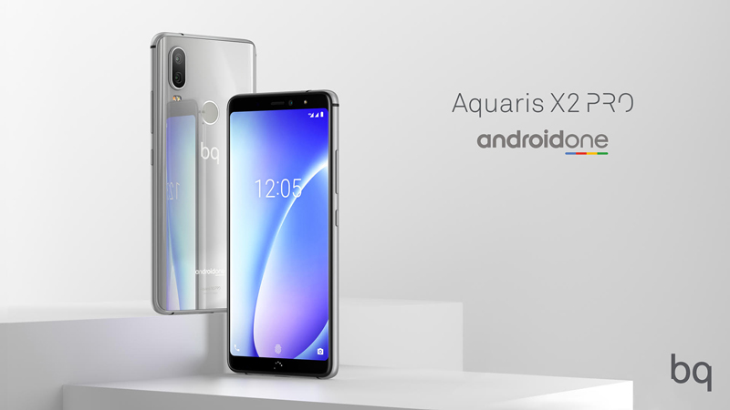 BQ Aquaris X2 e X2 Pro chegarão com Android One da Google