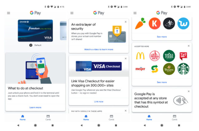 Google Pay Android Pay Google Wallet