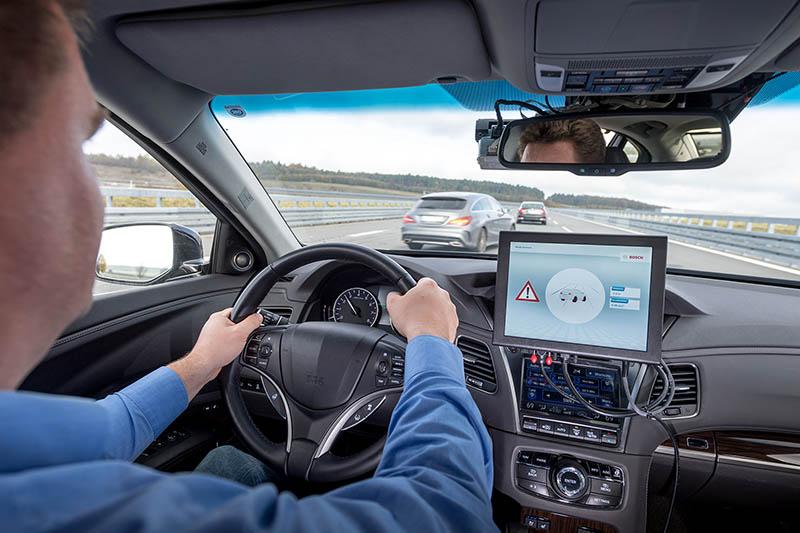 Huawei Bosch Vodafone carros inteligentes