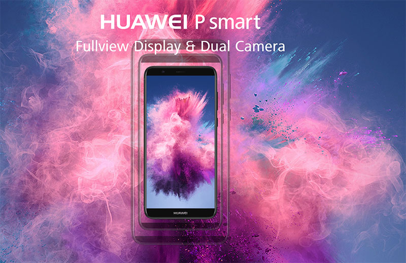 Huawei P Smart smartphone Android