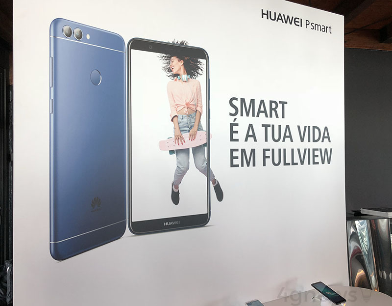 Huawei P smart smartphone Android 17