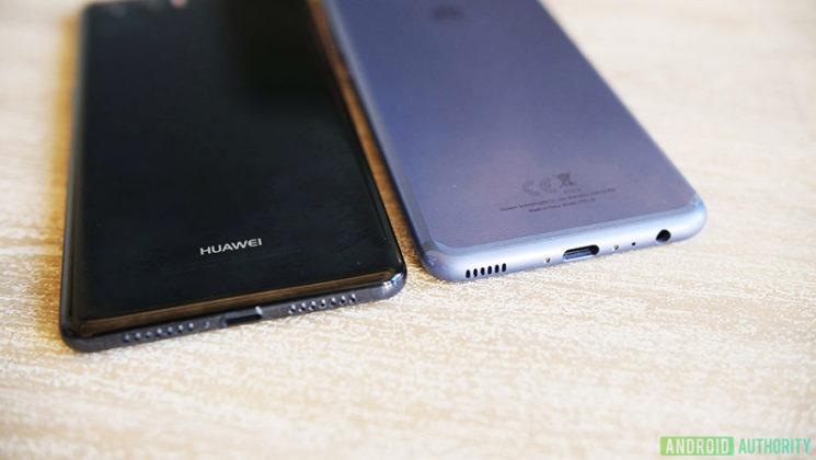 Samsung Galaxy S9 Huawei P20 Apple iPhone X