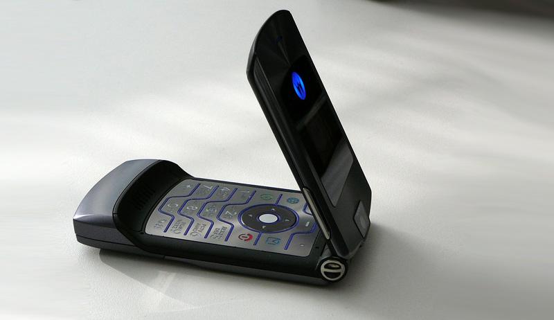 Motorola V3 (Razr) poderá voltar ao mercado no próximo ano