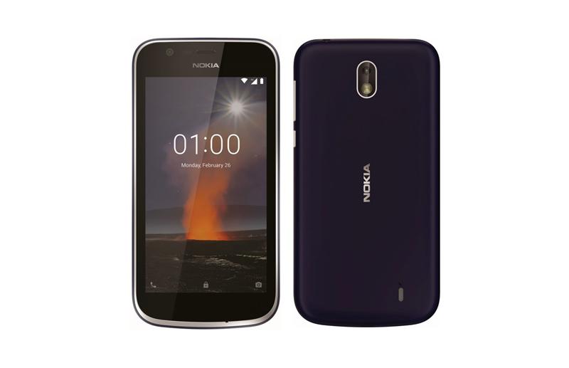 Nokia 1 Nokia 7 Plus Android smartphones