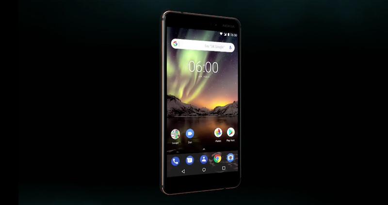 Nokia 6 2018 com carregamento sem fios e Android One é apresentado