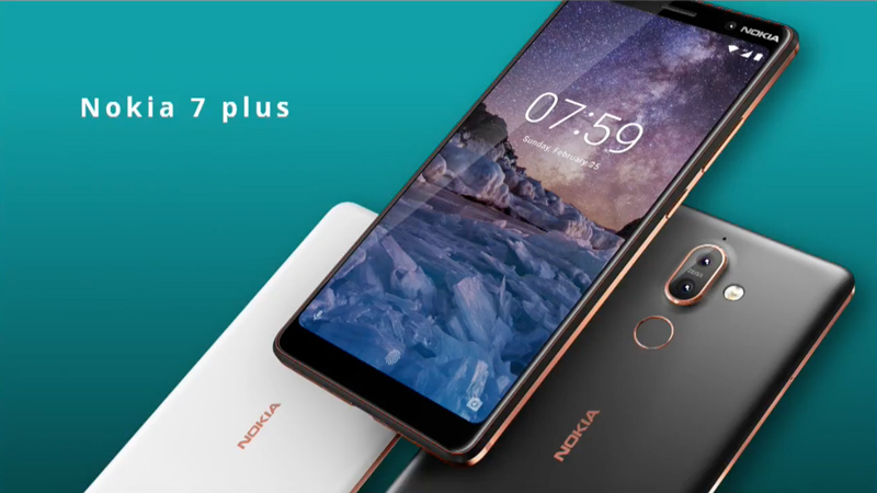 Nokia 7 Plus Android