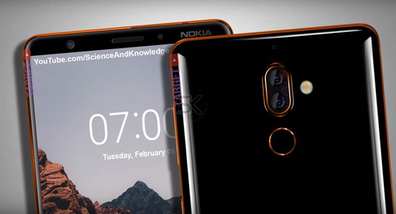 Nokia 7 Plus Android Oreo MWC
