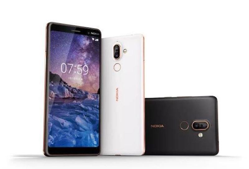 MWC 2018 Nokia 7 Plus Android Oreo smartphone