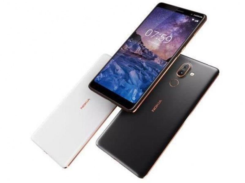 Nokia 7 Plus Android Oreo smartphone