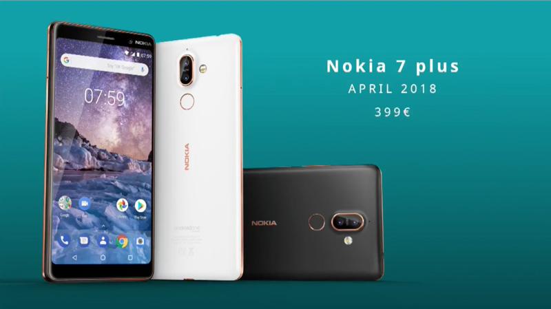 Nokia 7 Plus Android