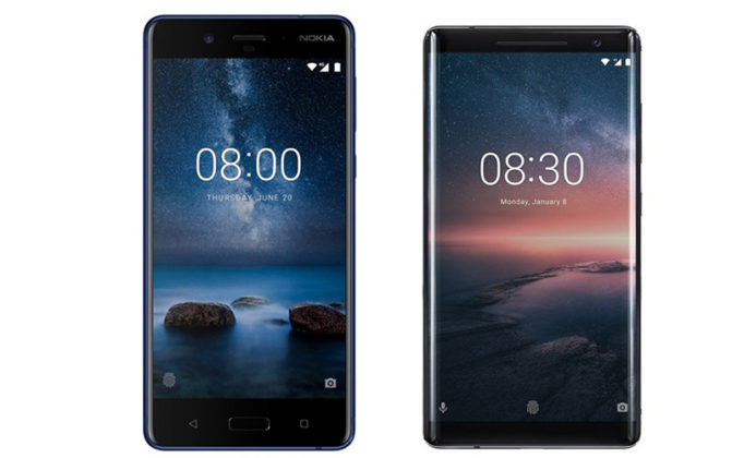 Nokia 8 Sirocco Android Android Enterprise Recommended pela Google topos de gama Nokia 9 Android Android One Android Go Gogole Nokia 8 Sirocco Android Oreo