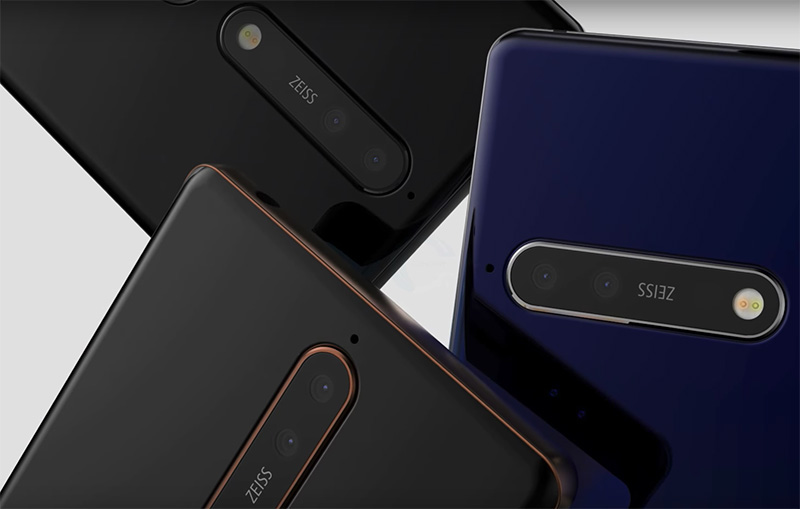Nokia 8 Sirocco Android