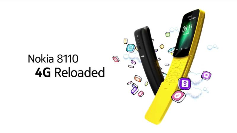 Nokia 8110 4G Banana Phone MWC