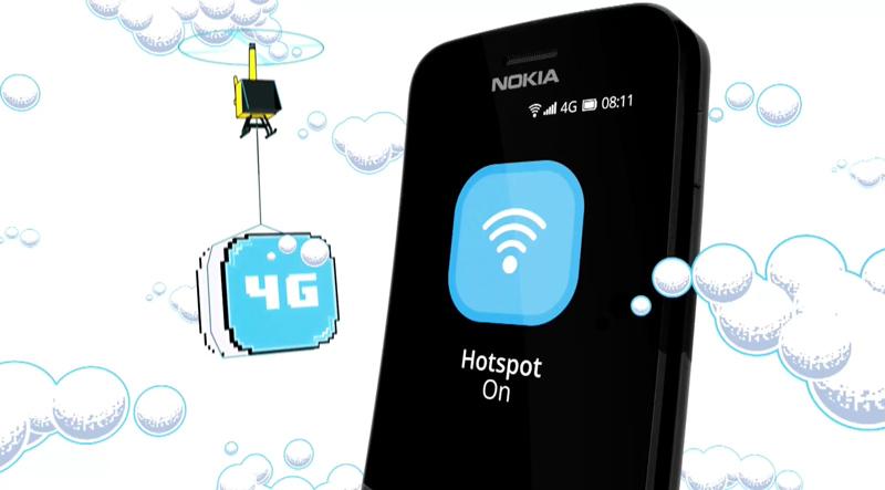 Nokia 8810 MWC Banana