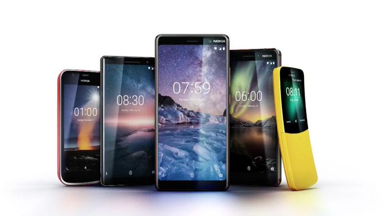 topos de gama Android Oreo Nokia 9 Nokia 8 Sirocco Android mercado Google