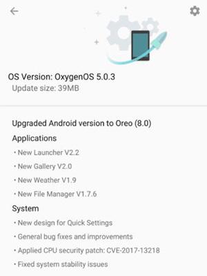 OnePlus 5T Android Oreo Vermelho Lava OxygenOS