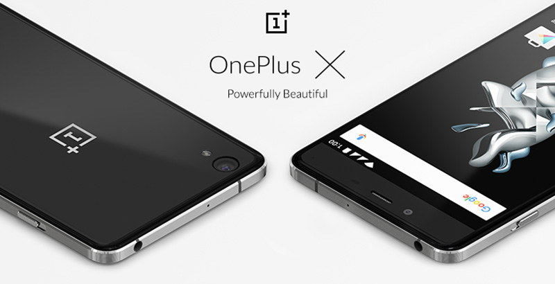OnePlus X smartphone Android