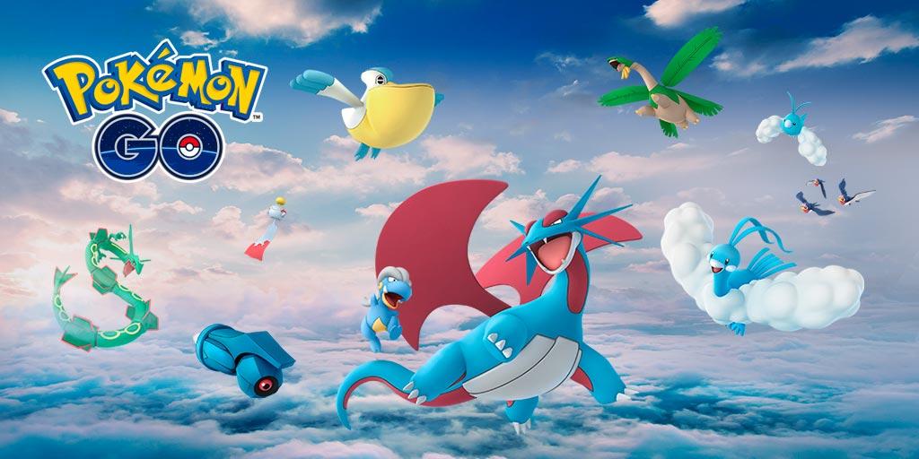 Pokémon Go Niantic Rayquaza Hoenn