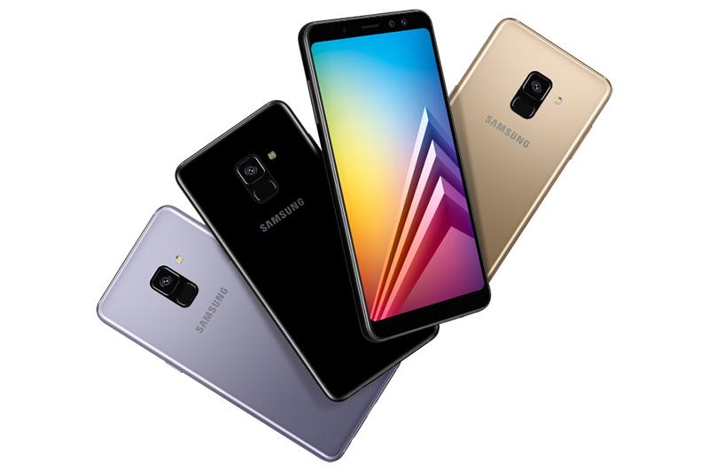 Samsung Galaxy A6 e A6+ Samsung Galaxy A8 2018 smartphone Android