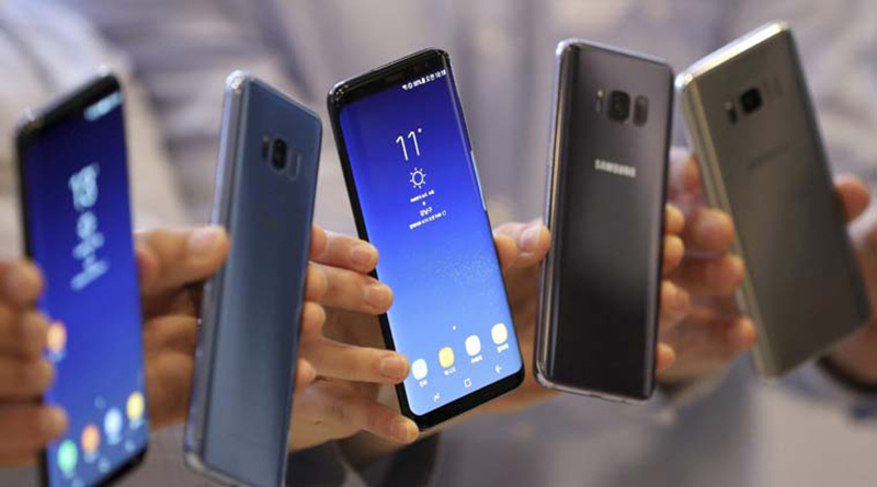 smartphones Samsung Galaxy S8 Android Oreo