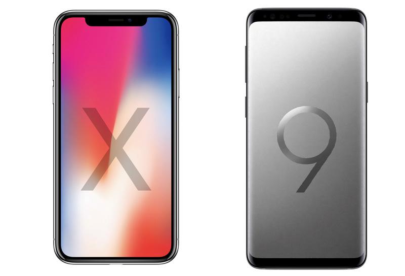 Samsung Galaxy S9 vs iPhone X, um duelo de especificações!