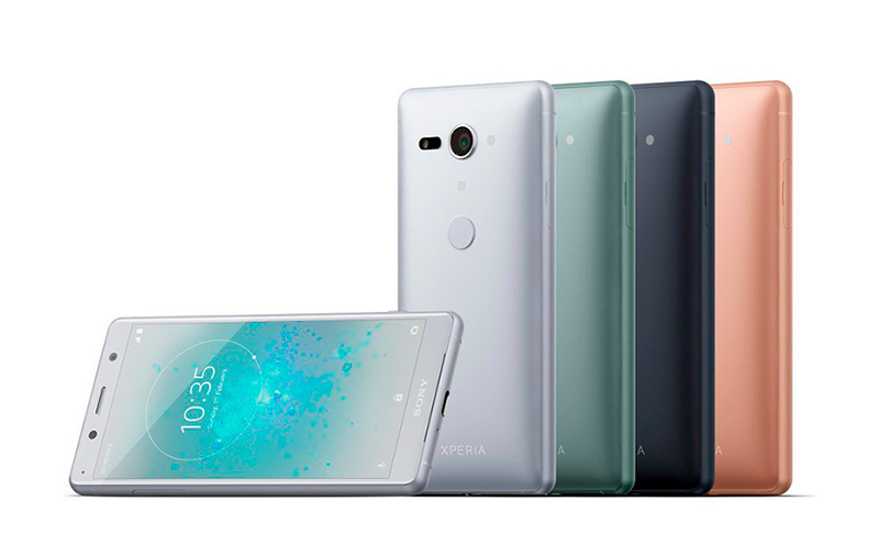 Sony Xperia XZ2 Compact Android Oreo MWC 2018