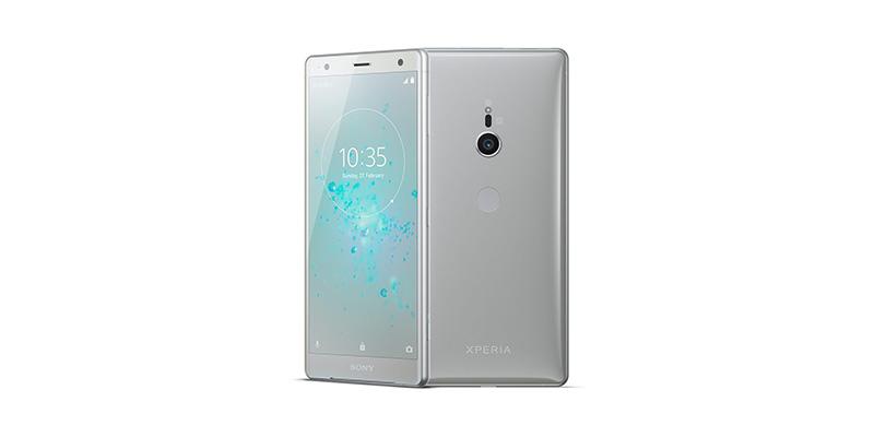 flagship Sony Xperia XZ2 Android com câmara dupla