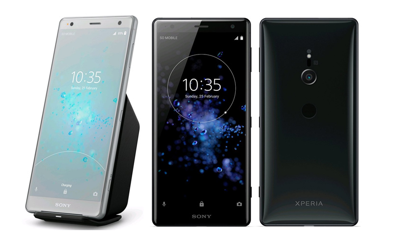 Sony Xperia XZ2 terá a possibilidade de carregar sem fios XZ2 Compact