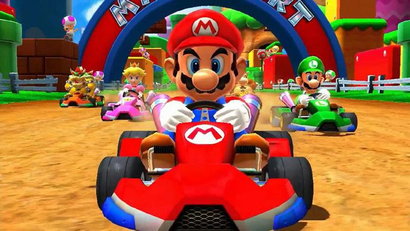Mario Kart Tour Android Google Play Store iOS Super Mario Run