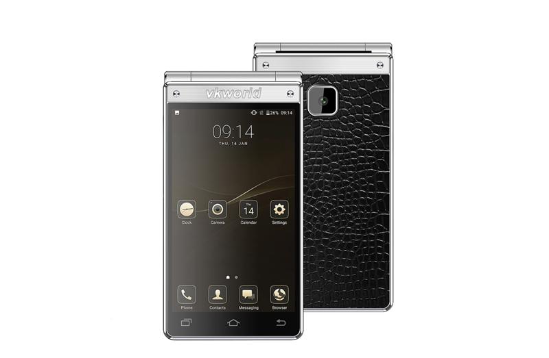 """Os telefones """"concha"""" voltam a ganhar nova vida com o sistema Android"""